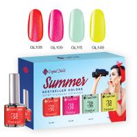 2017 Bestseller Colors Summer Crystalac kit