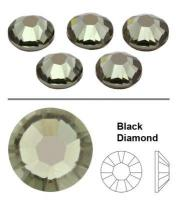 SW Crystal strasszkő Black Diamond (215) SS3