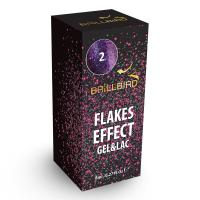 Flakes Effect Gel&Lac 2 (